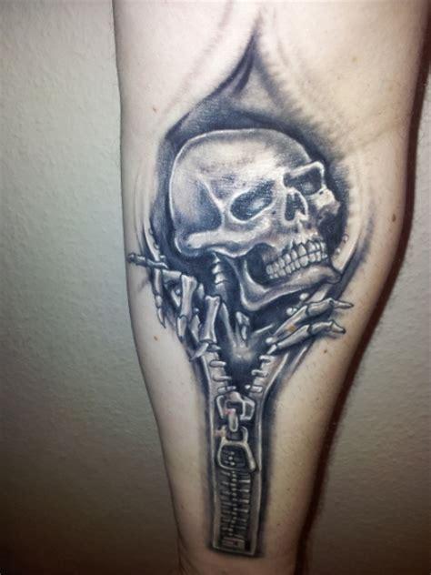 skull skull aus reissverschluss tattoos von tattoo