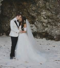 Joseph Morgan Persia White and Wedding