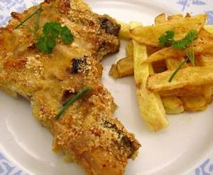 Cotes De Porc Au Four : c tes de porc moutard es au parmesan recette de c tes de ~ Farleysfitness.com Idées de Décoration