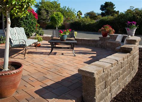 front yard paver patio transformation in san diego ca