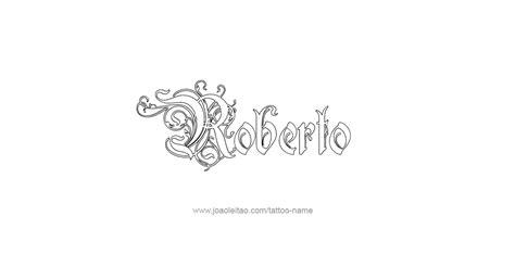 roberto  tattoo designs