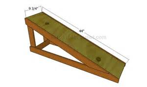 How to Build a Wooden Dog Ramp