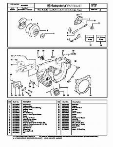 Husqvarna 141 Chainsaw Parts Manual  2004 2005