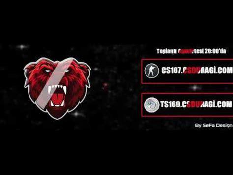 teamspeak3 banner psd 2 link a 231 ıklamada youtube