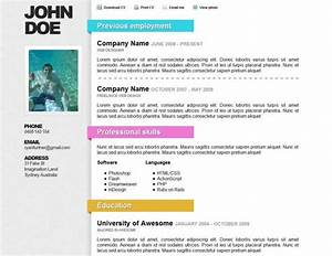 top 40 professional online cv resume templates With cv online