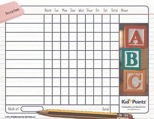 Classroom Student Behavior Chart For Kids