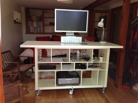 ikea expedit bureau workspace cool home office with ikea expedit desk for