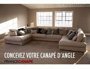 un canape en u design pour votre salon france canape With canapé en u design