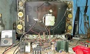 Sansui Hrjs21  U2013 21 Inch Semi Flat Crt Tv