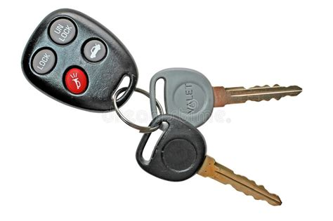 Car Keys With Remote Control Stock Photo