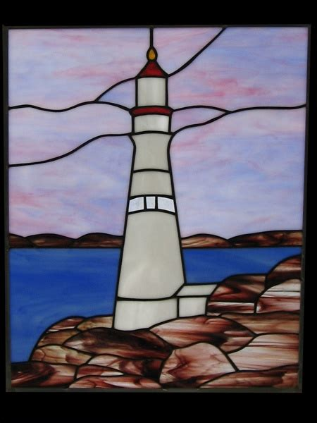stained glass lighthouse l 164 best stained glass lighthouses images on pinterest