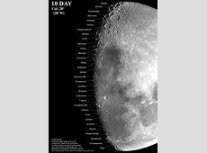 Moon Phases Maps for binocular view – Derekscope