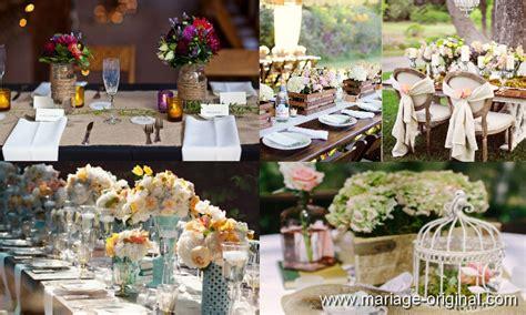 idee deco table mariage vintage