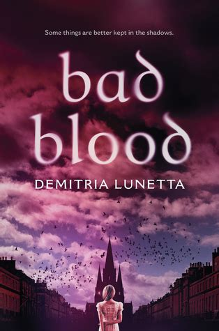 bad blood  demitria lunetta reviews discussion