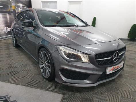Progressive dynamics from bonnet to rear. 2016 Mercedes-Benz CLA 2.1 220 D AMG LINE 2.1 Diesel - £ ...