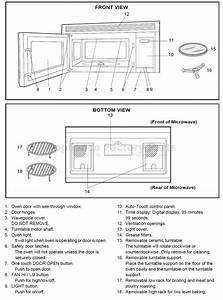Sharp Microwave Parts Diagram