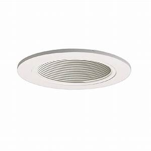 Halo lighting recessed lighting : Halo lighting coilex in white baffle recessed ceiling