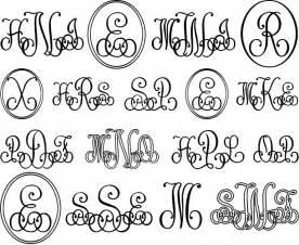Lace Monogram Font