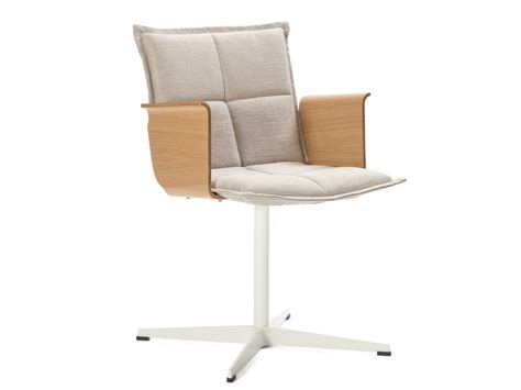 task chair with 4 spoke base with armrests lab xb by inno