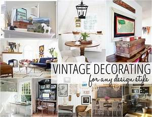 Guía de los diferentes estilos de decoración vintage