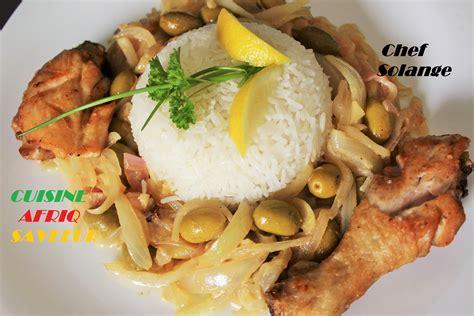 cuisine africaine poulet yassa cuisine africaine