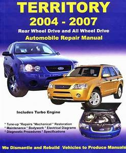 Ford Territory Sx And Sy 2004