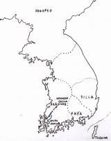 Coloring Peninsula Drawing Korea Korean Drawings North Designlooter 88kb 1020 Getdrawings sketch template