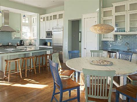 beach house kitchen dining area serenity lake front