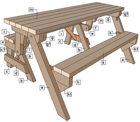 build   piece folding picnic table
