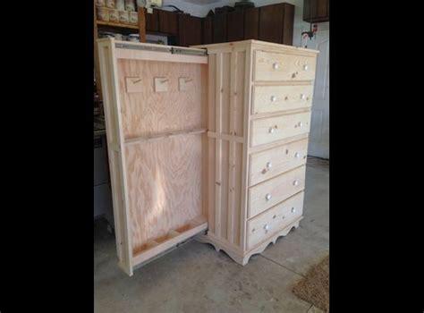 chest  drawers  hidden gun cabinet home decor