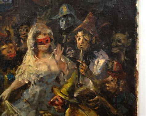 masquerade ball painting  stdibs