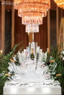 Champagne Ice Sculpture