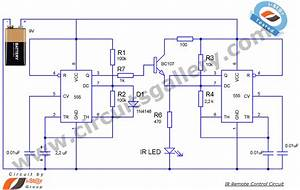 Ir Transmitter And Receiver Circuit For Best Remote Control System