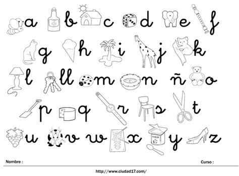 abecedario de min 250 sculas con im 225 genes para colorear ciudad 17 didactalia material educativo