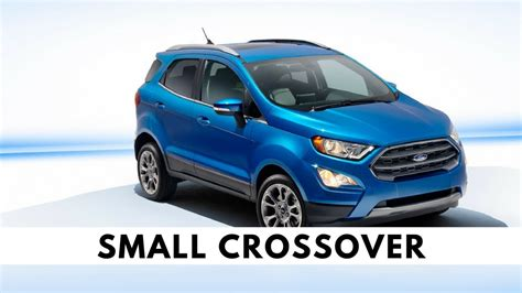 ford ecosport mpg  crossover video youtube youtube