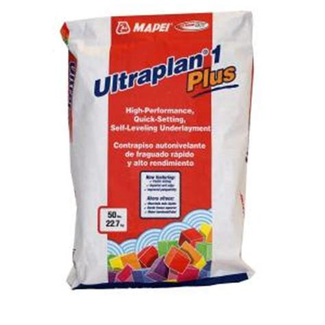 Floor Patch And Leveler Home Depot by Mapei Ultraplan 1 Plus 50 Lb Self Leveling Underlayment