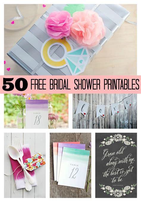 blue wedding ring 50 free bridal shower printables pretty my