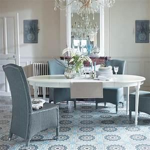 Table Ronde Maison Du Monde : table manger ronde extensible blanche 4 8 personnes l120 200 d co maison rangement ~ Teatrodelosmanantiales.com Idées de Décoration