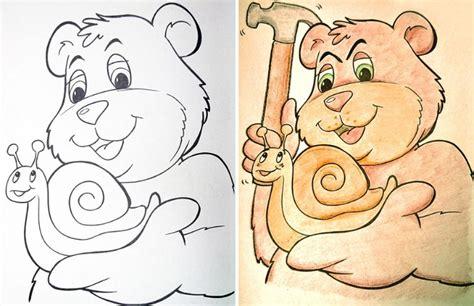 cuadernos infantiles  colorear corrompidos bastisimo