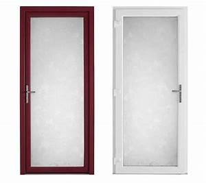 realisation portes d39entree en verre opaque securise With porte d entrée verre