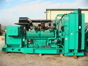 2000kw Diesel Generator 4160 Volt   13800 Volt Cummins Qsk60
