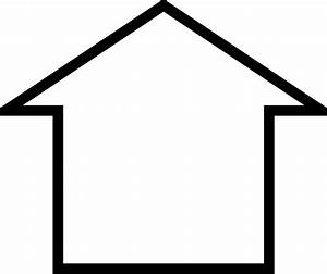 Outline Of A House - ClipArt Best