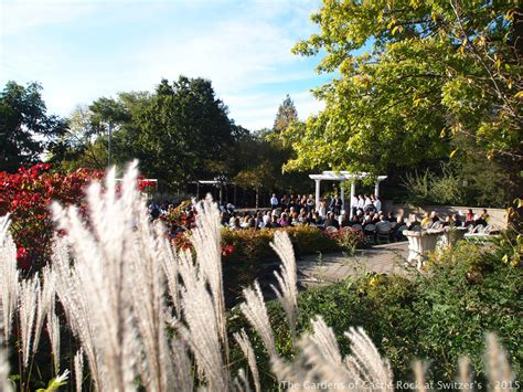 beautiful fall mn wedding the gardens of castle rock