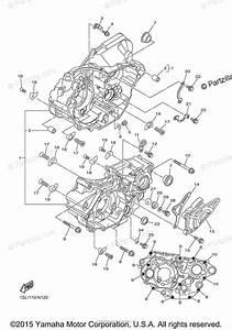 Yamaha Motorcycle 2015 Oem Parts Diagram For Crankcase