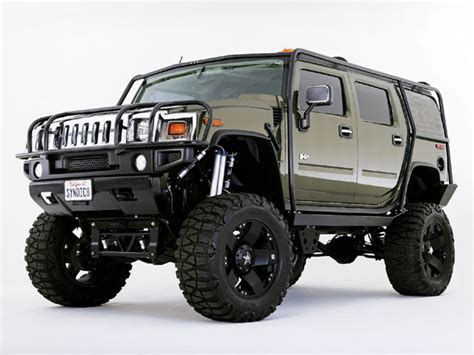 custom hummer  feature truck truckin magazine