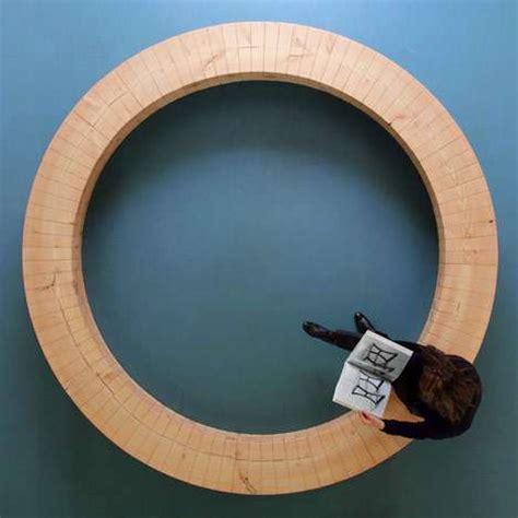 Circular Wooden Seating  Chris Kabel
