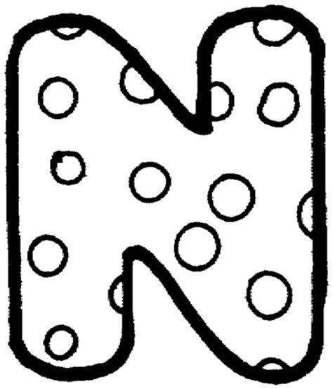 Coloriage Lettre N Coloriages à imprimer gratuits