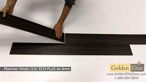 plancher de vinyle avec une sous couche en liege youtube With plancher de vinyle de cuisine