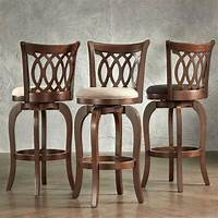 bar stools with backs Verona Linen Scroll-back Swivel 29-inch Bar Stool by ...