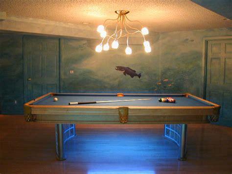 pool table lighting pool table